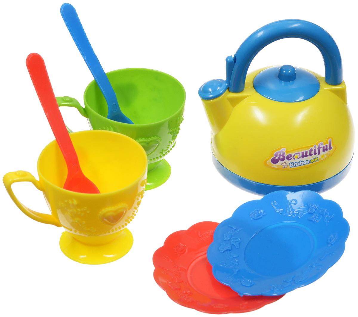 ABtoys Игрушечный кухонный набор 7 предметов