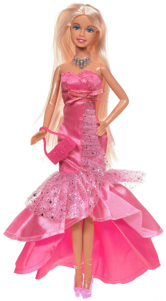 Defa Кукла Lucy в вечернем платье цвет розовый