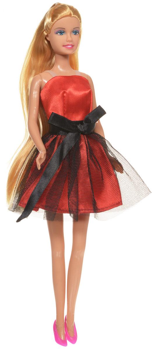 Defa Кукла Lucy цвет платья красный черный кукла defa lucy 270 228984