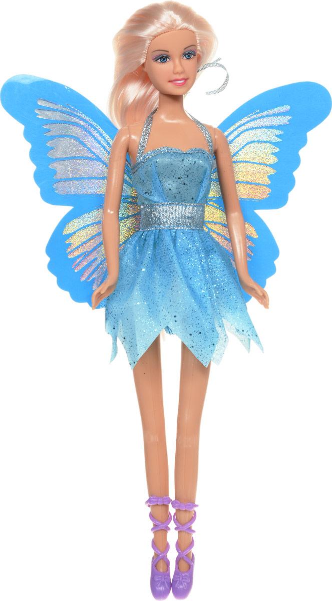 Defa Кукла Butterfly Fairy Бабочка цвет платья голубой кукла defa lucy 6023