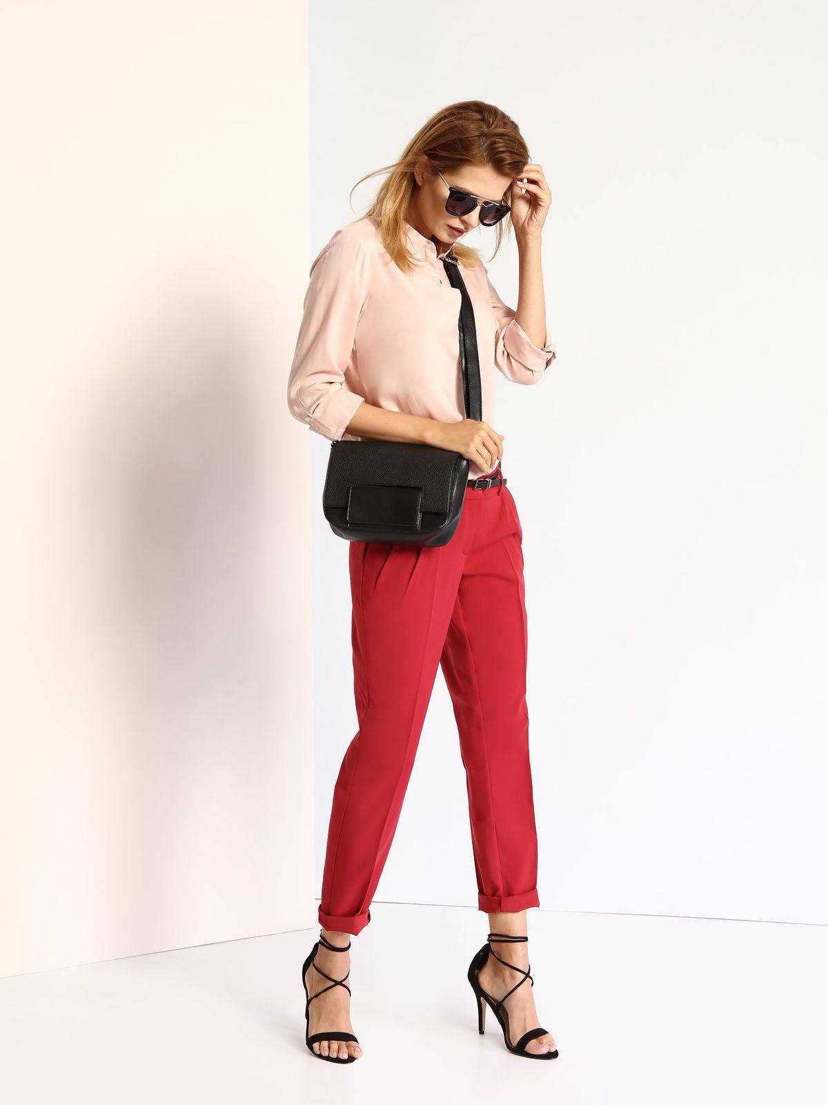 Рубашка женская Top Secret, цвет: бежево-розовый. SKL2040JR. Размер 34 (40) canon 2040
