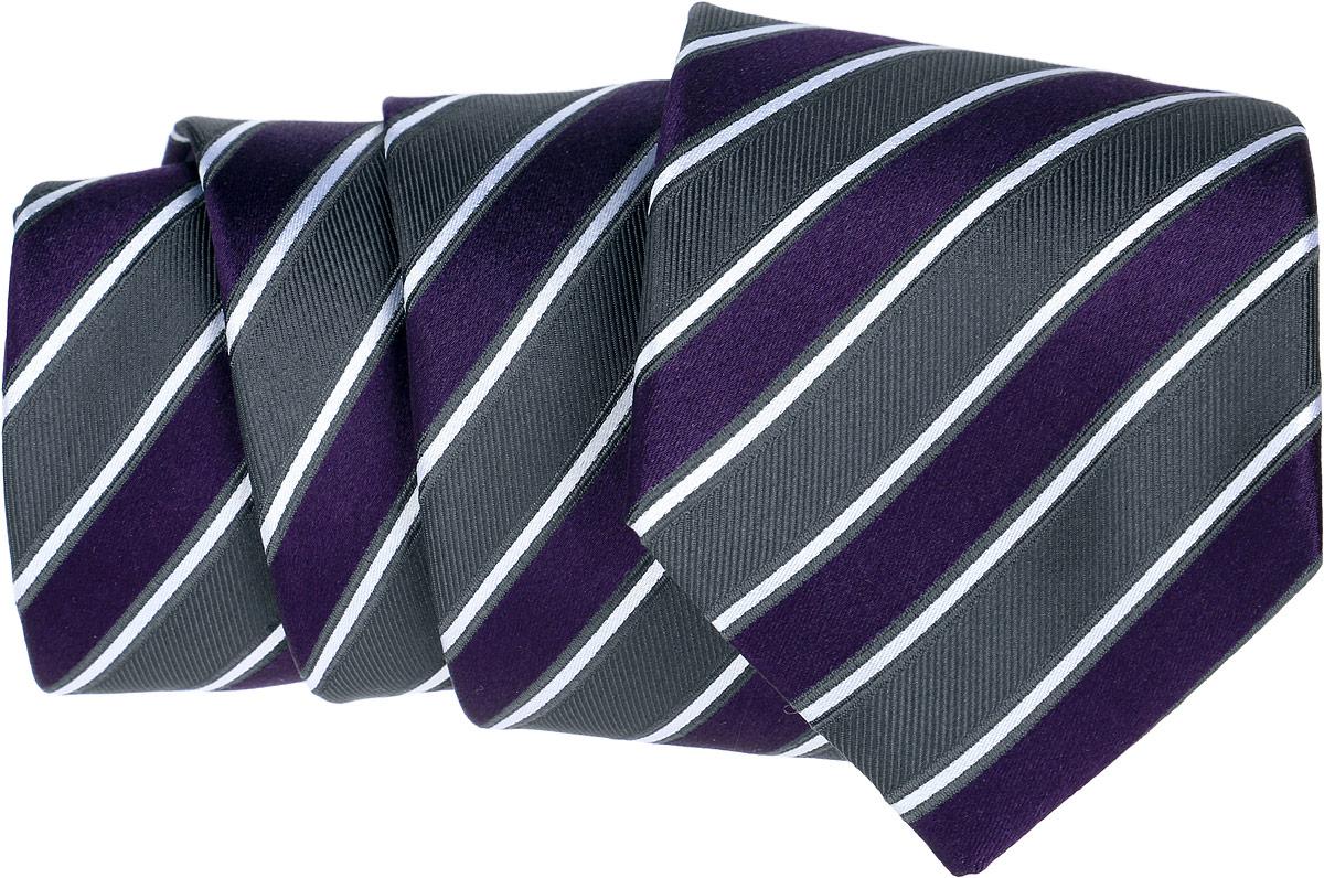 Галстук Eterna, цвет: фиолетовый, серый. 9778_90_LONG. Размер универсальный9778_90_LONGОригинальный галстук Eterna является оптимальным завершением образа. Этот модный аксессуар порадует вас высоким качеством исполнения и современным дизайном. Галстук полностью выполнен из качественного шелка и оформлен оригинальным принтом в клетку.Такой стильный галстук подойдет как к повседневному, так и к официальному наряду, он позволит вам подчеркнуть свою индивидуальность и создать свой неповторимый стиль.