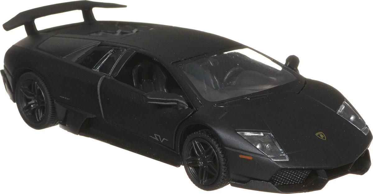 RMZ City Модель автомобиля Lamborghini Murcielago LP670-4 SV цвет черный модель автомобиля lamborghini murcielago lp670 4 масштаб 1 43 39500