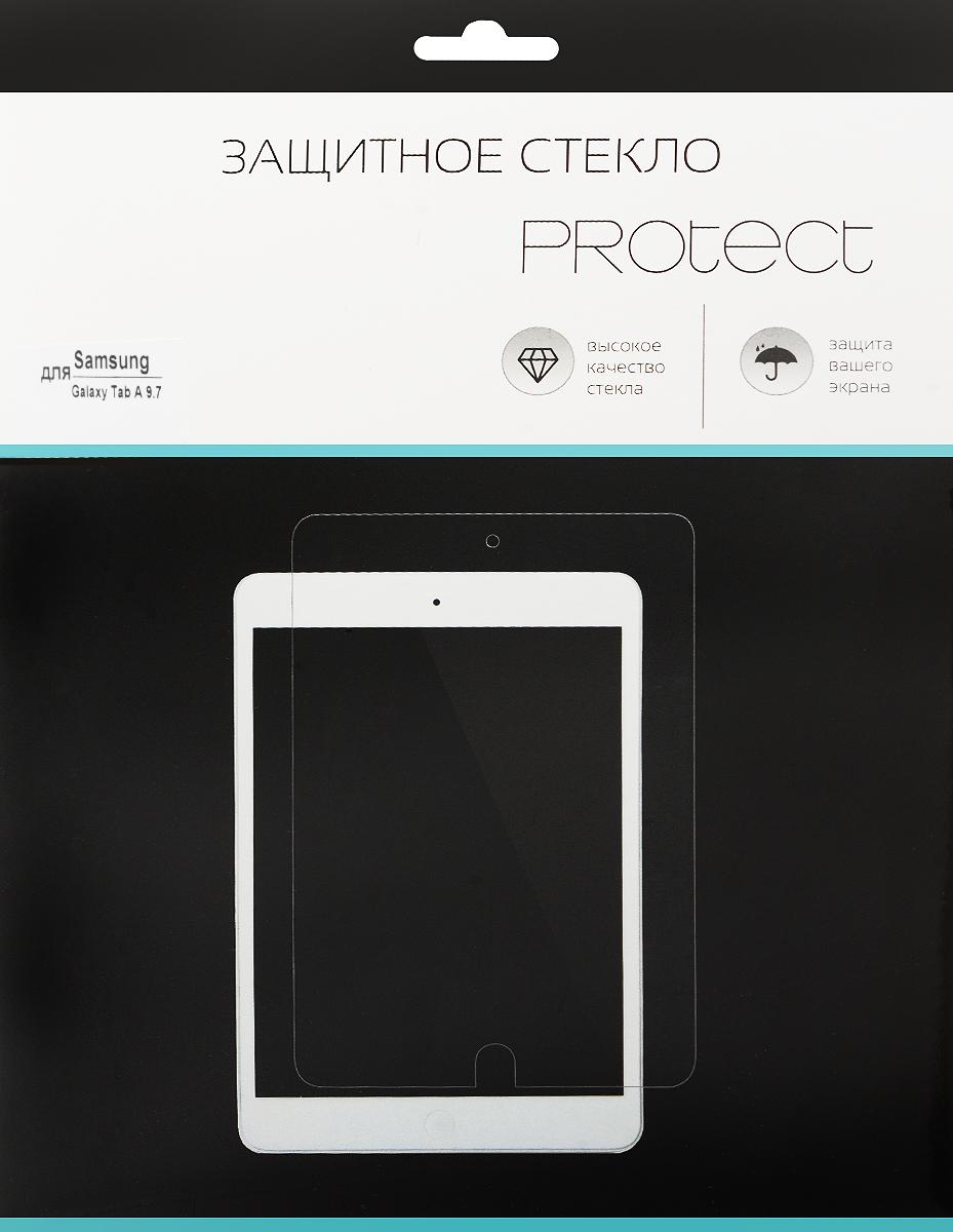 LuxCase Protect защитное стекло для Samsung Galaxy Tab A 9.7, суперпрозрачное защитное стекло luxcase glass для samsung galaxy j2 prime глянцевое