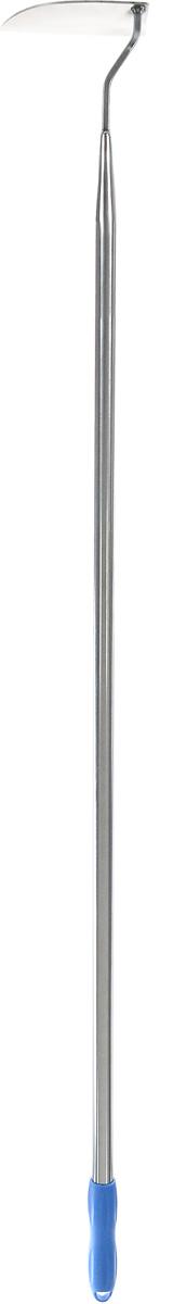 Тяпка Skrab, с рукояткой, 144 см28086Тяпка Skrab является сельскохозяйственным инструментом, предназначенным для работы на частном подворье, в саду или на даче. Заметно уменьшает трудоемкость прополки и рыхления почвы, а также уничтожения сорняков. Материалом для изготовления служит нержавеющая сталь со специальной закалкой, придающей режущей кромке достаточную прочность и возможность заточки во время работы. Ручка оснащена резиновой накладкой. Длина тяпки: 144 см. Размер рабочей части: 14,5 х 5,7 см.