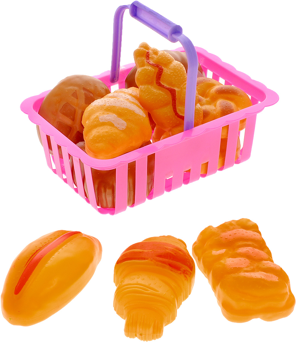 ABtoys Набор продуктов в корзине 12 предметов abtoys со стрелами на присосках
