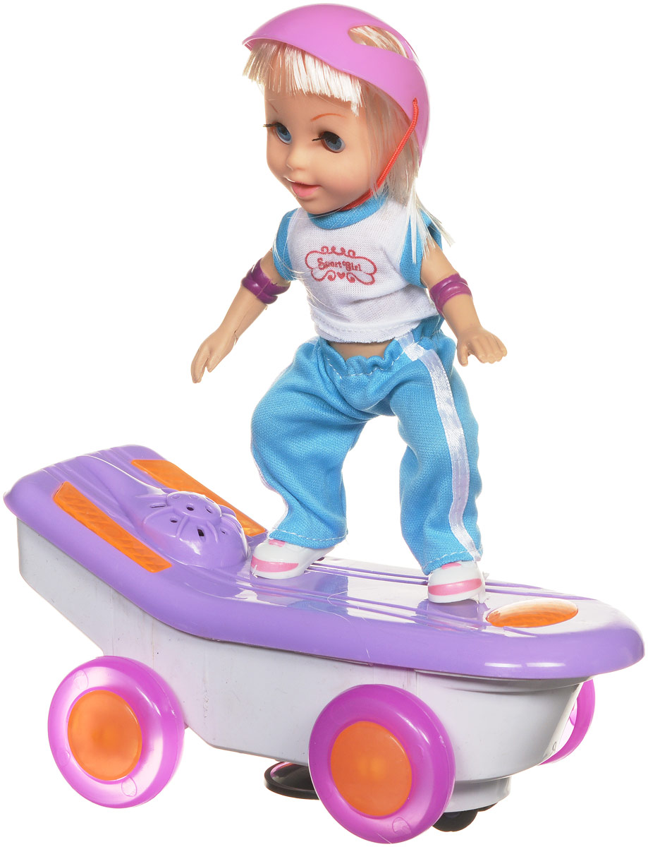 Bradex Мини-кукла Скейтбордистка Молли магазин девочки и мальчики
