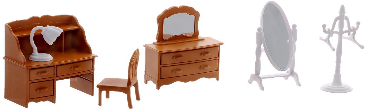 ABtoys Набор мебели для гостиной Счастливые друзья набор мебели для гостиной 3 с аксессурами счастливые друзья abtoys