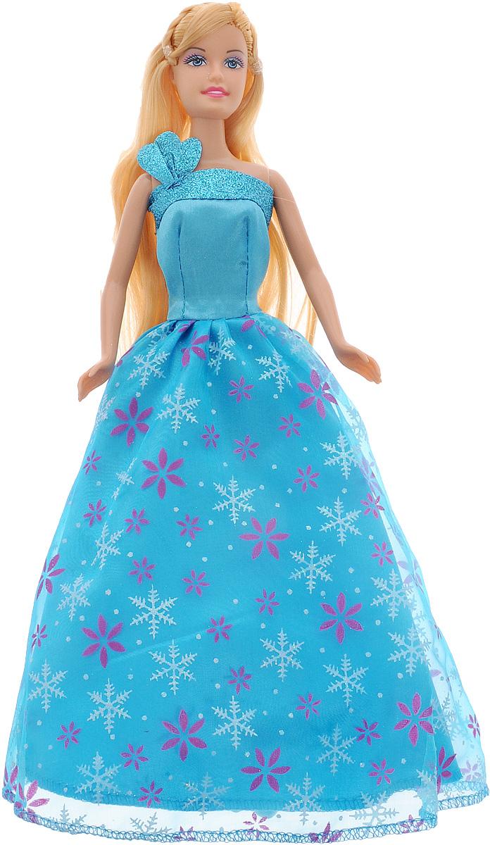 Defa Кукла Lucy Принцесса цвет платья голубой кукла defa lucy невеста 8341