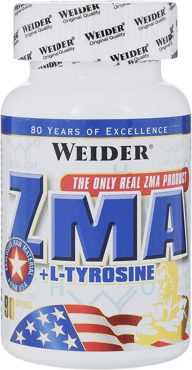 Витаминно-минеральный комплекс Weider ZMA, 90 капсул37841Витаминно-минеральный комплекс Weider ZMA - натуральное и 100% клинически проверенное средство, которое поднимает уровень тестостерона в организме человека. В одном 8-недельном исследовании с использованием двойного слепого метода группе футболистов, принимавших ZMA, удалось увеличить уровень плазменного общего тестостерона в среднем на 32,4%, инсулиноподобный фактор роста - на 3,6%, уровень свободного тестостерона - на 33,5%, а силу - на 11,6%. Увеличение и рост мышечной ткани возможны, только если ваше тело пребывает достаточное количество времени в анаболическом состоянии. ZMA поможет вам сохранить анаболизм, позволяя тем самым увеличить чистую мышечную массу по всему телу и силу. Все компоненты препарата действуют синергически, то есть взаимно усиливают воздействие друг друга. Способ применения: Принимайте по 3 капсулы в день на пустой желудок за 30-60 минут до сна. Состав: магния аспартам, L-тирозин, цинк монометионин аспартат, витамин В6 (пиридоскин гидрохлорид), стеарат магния, микрокристаллическая целлюлоза. Товар сертифицирован.Как повысить эффективность тренировок с помощью спортивного питания? Статья OZON Гид