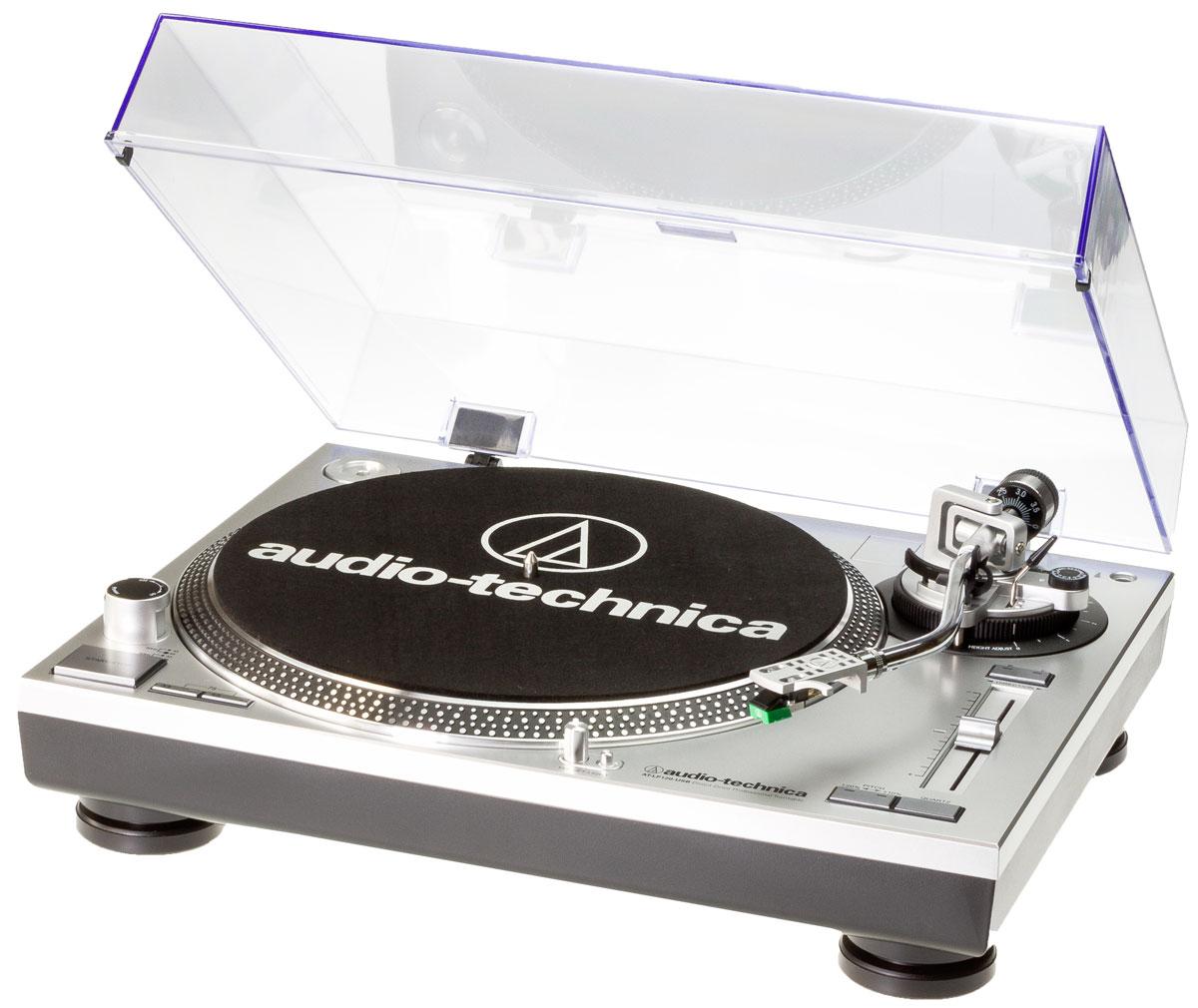 Audio-Technica AT-LP120-USBHC, Silver виниловый проигрыватель проигрыватель пластинок ссср куплю