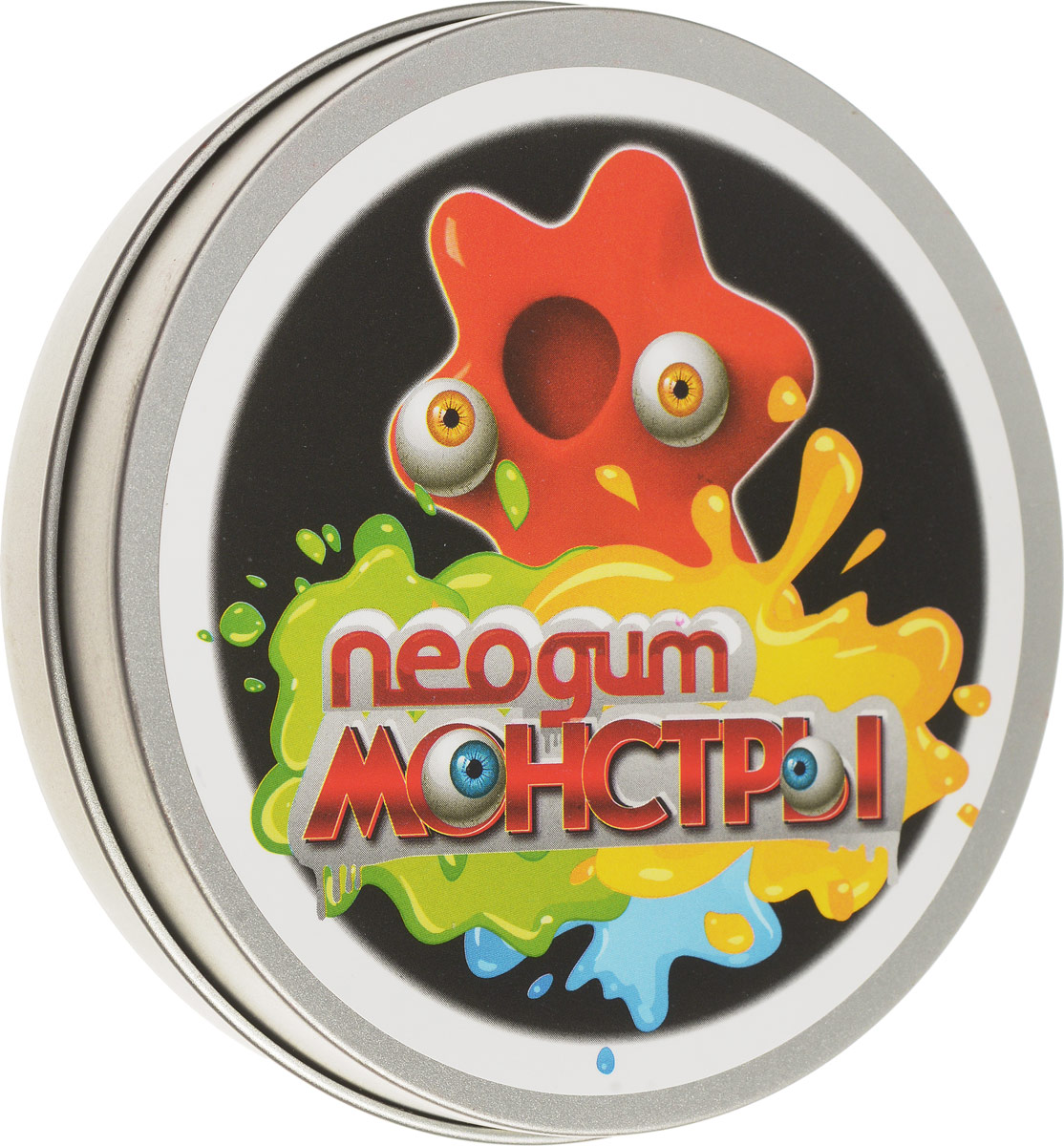 Neogum Пластилин Монстр цвет оранжевый