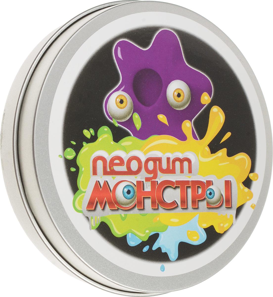 Neogum Пластилин Монстр цвет фиолетовый пластилин neogum жвачка для рук изумрудная роса