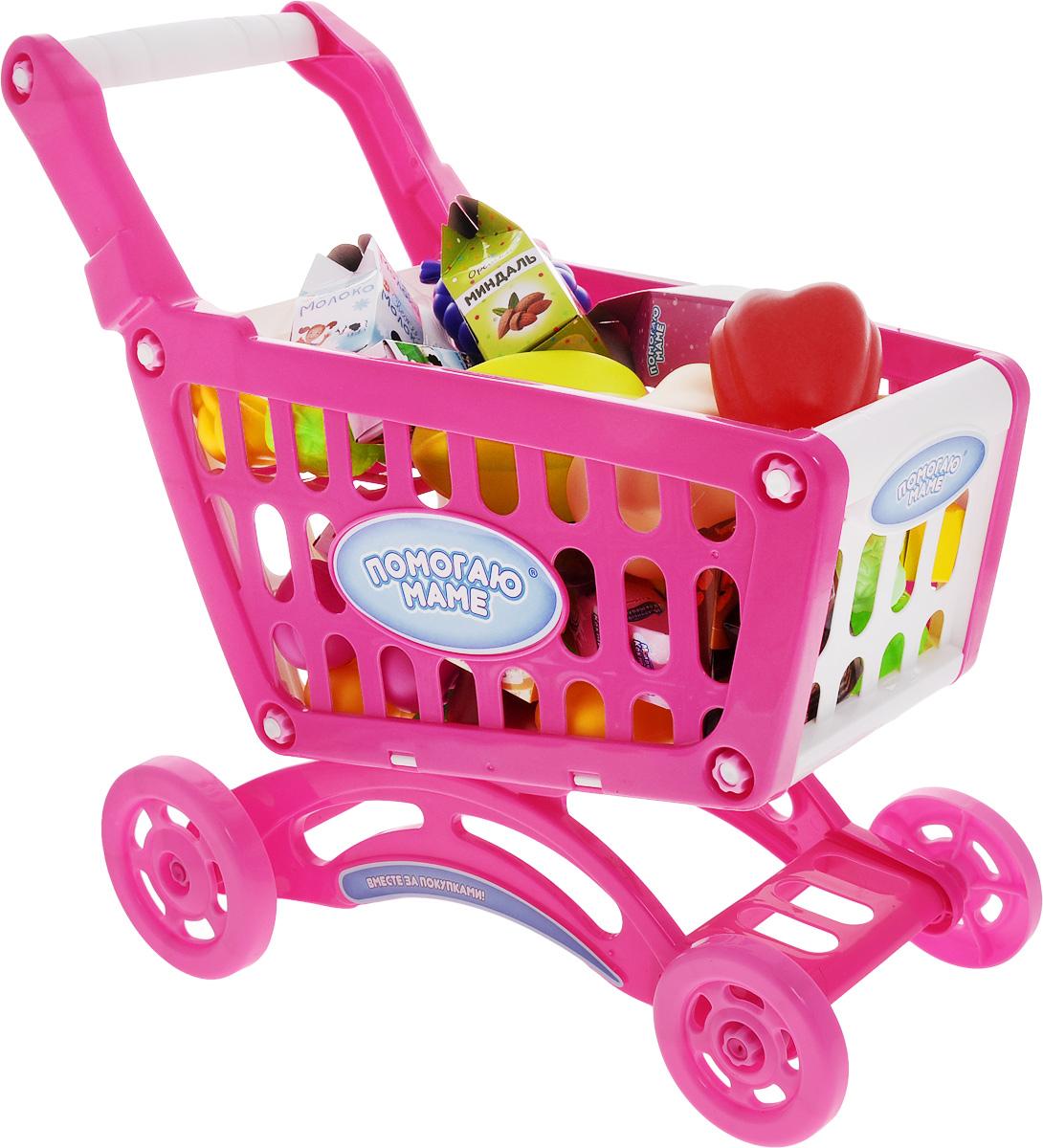 ABtoys Игрушечный набор Продуктовая корзина - Сюжетно-ролевые игрушки