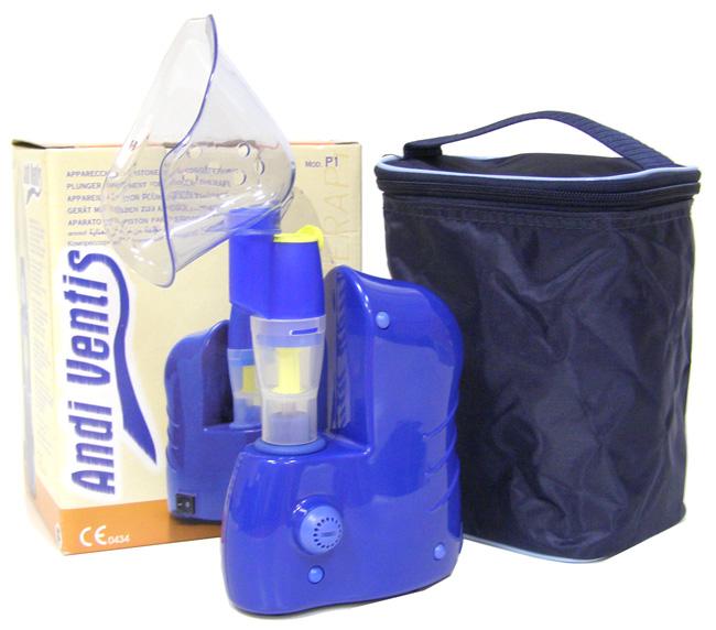 MED 2000 Ингалятор компрессорный AndiVendis P1, с сумкой - Лечение и профилактика