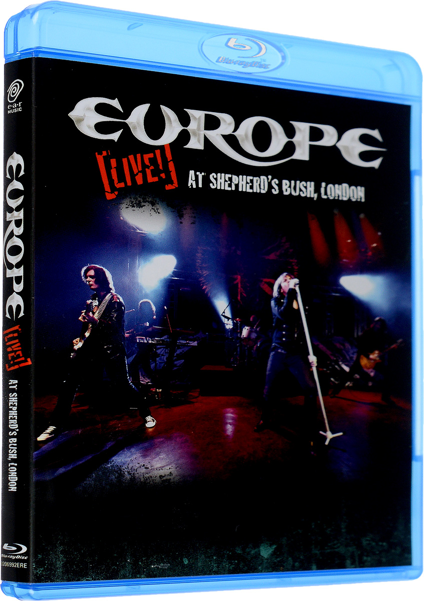 Europe. Live! At Shepherd's Bush, London (Blu-Ray) europe live at shepherd s bush london blu ray