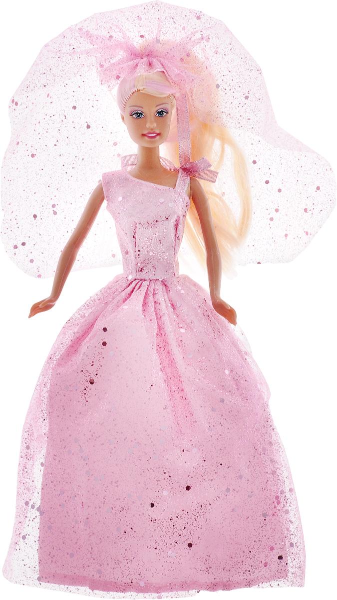 Defa Кукла Lucy в свадебном платье цвет розовый куклы и одежда для кукол defa кукла lucy модная вечеринка с расческой арт 8226