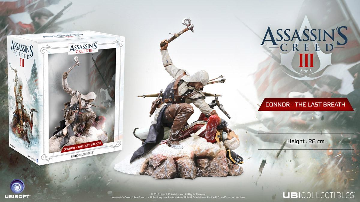 Assassin's Creed III. Фигурка Connor - The Last Breath 1С-СофтКлаб