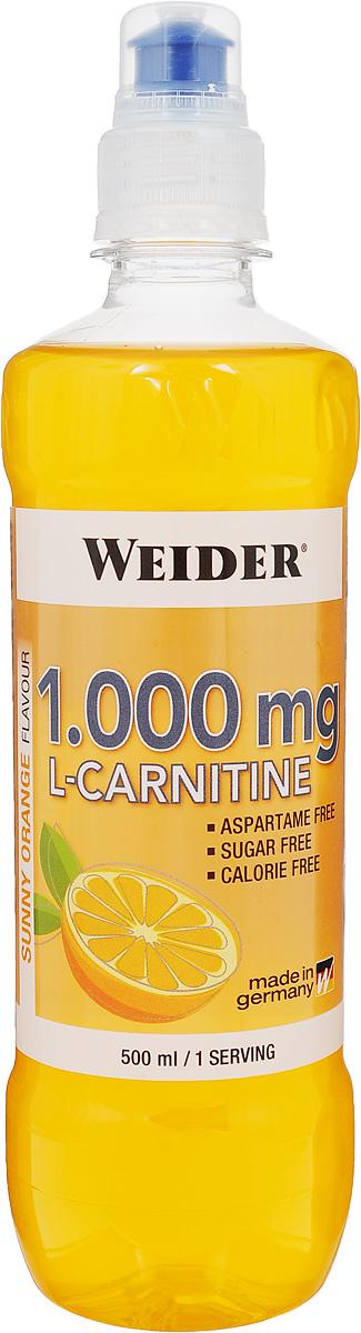 L-карнитин Weider, апельсин, 500 мл l карнитин weider апельсин 500 мл