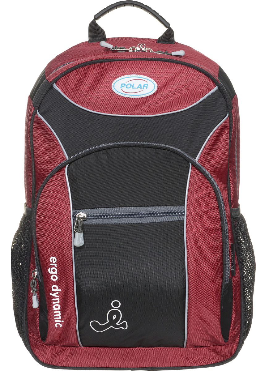 Рюкзак детский городской Polar, 17 л, цвет: красный. П0088-01