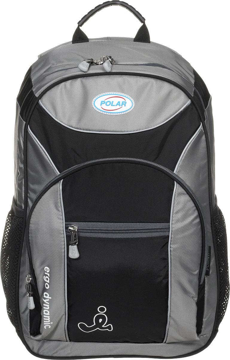 Рюкзак детский городской Polar, 17 л, цвет: серый. П0088-06