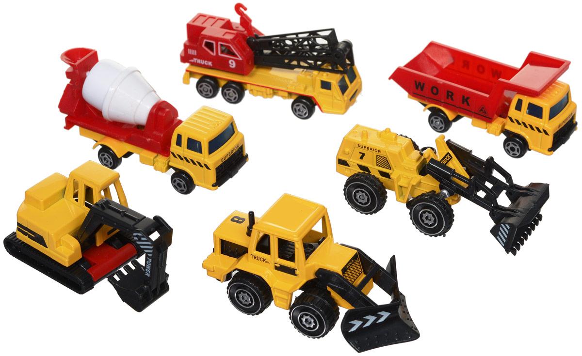 Junfa Toys Набор строительной техники 6 шт куплю ковш для экскаватора с документами