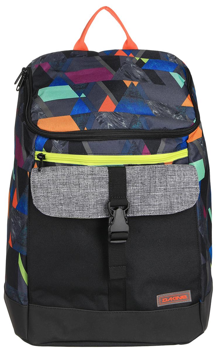 Рюкзак женский Dakine DK NORA 25L GEO. 0821002200117013 08210022Городской женский рюкзак с отделением для ноутбука ( до 15) внутренний карман для iPad. Внешний карман на застежке.
