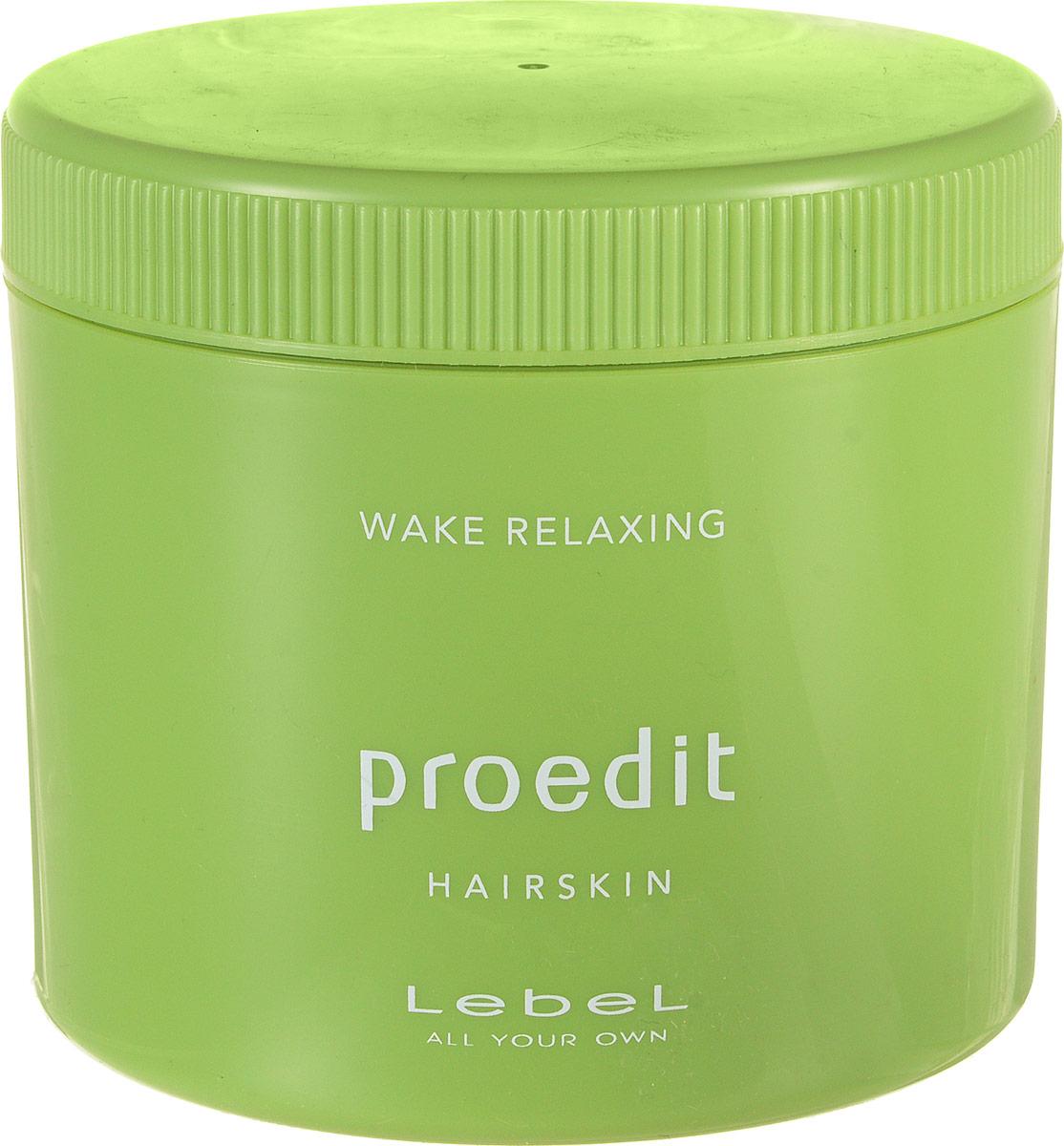 Lebel Proedit Крем для волос Пробуждение Hairskin Wake Relaxing 360 г3785лпКрем для волос «Пробуждение» Lebel Proedit Hairskin:Стимулирует рост волос.Снимает мышечное напряжение кожи головы. Придаёт волосам эластичность, гладкость, блеск. Делает волосы послушными, податливыми укладке.Идеален для жёстких и сухих волос. SPF 10.