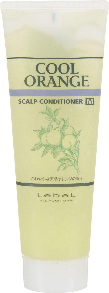 Lebel Cool Orange Очиститель для сухой кожи головы Холодный Апельсин Scalp Conditioner M 130 г lebel cosmetics cool orange sc hair soap шампунь супер холодный апельсин 600 мл