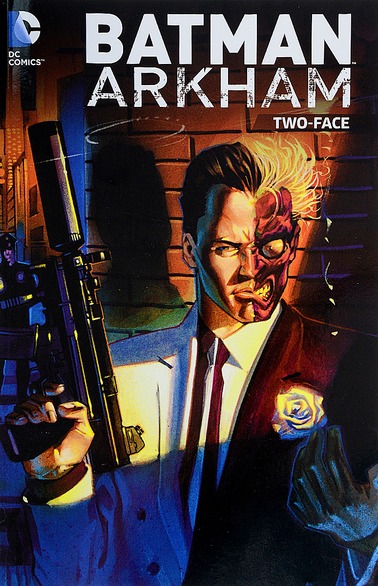 BATMAN ARKHAM: TWO-FACE the world of flashpoint featuring batman