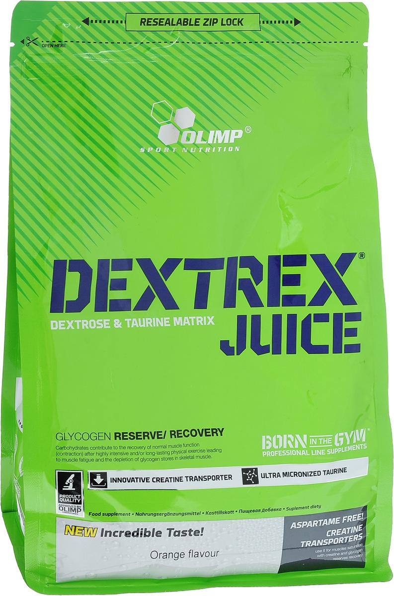 Углеводный энергетик Olimp  Dextrex Juice , апельсин, 1 кг - Энергетики