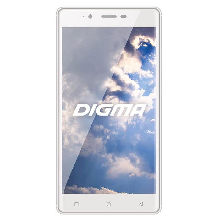 Digma Vox S502 3G, WhiteVS5003MGСмартфон Digma VOX S502 3G - компактная модель с 5,5-дюймовым сенсорным экраном и небольшими размерами, которые дают возможность управления функциями устройства одной рукой и помогают потреблять совсем небольшое количество энергии. Заряда батареи смартфона хватает примерно для 27 часов разговора или 18 дней работы в режиме ожидания.Встроенный высокосортной передатчик Wi-Fi позволяет вам быстро установить соединение с точкой доступа. Две SIM-карты дают возможность сочетать наиболее выгодные тарифные планы для голосового общения или мобильного интернета. Современный четырехъядерный процессор легко справляется с работой в режиме многозадачности.Смартфон Digma VOX S502 3G оснащен двумя камерами: основная 8-мегапиксельная со светодиодной вспышкой поможет вам получить четкие снимки даже при слабом освещении. Фронтальная камера с разрешением 2 мегапикселя позволит делать звонки по видеосвязи.Функция GPS без труда определит местоположение пользователя, поможет построить маршрут или отметить интересующую вас точку на местности. Телефон сертифицирован EAC и имеет русифицированную клавиатуру, меню и Руководство пользователя.