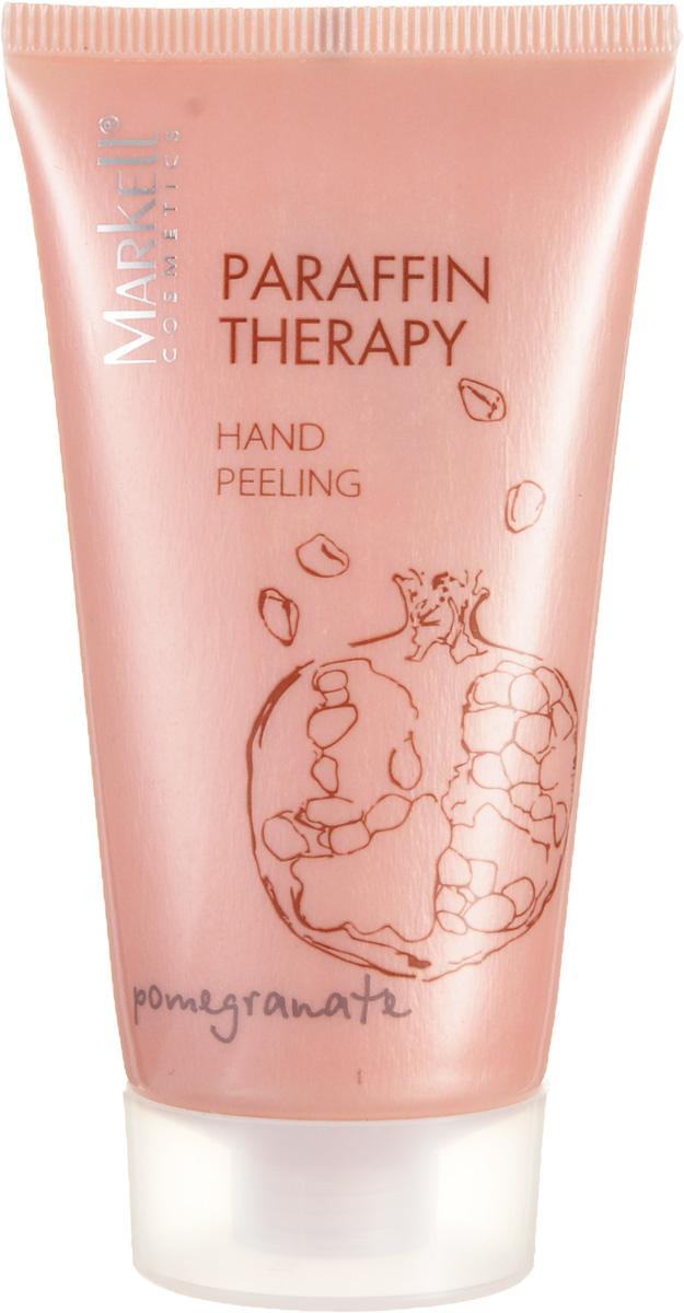 Markell Paraffin Therapy Пилинг для рук ГРАНАТ, 50 мл12571Пилинг для рук Гранат помогает подготовить кожу рук для нанесения увлажняющих и питательных средств. Входящие в состав скрабирующие частицы оказывают деликатное массажное действие и способствуют эффективному очищению кожи. Комплекс натуральных масел ши и бабассу обладает регенерирующим действием, прекрасно увлажняет сухую кожу, усиливает ее защитные функции, делает ее мягкой и гладкой.Аромат граната обеспечит дополнительную SPA-терапию.