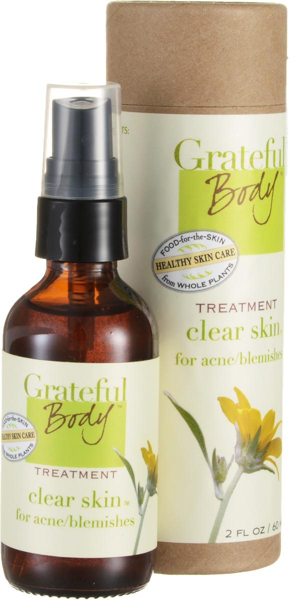 Grateful body Очищающий спрей для проблемной кожи, 60 млXCLWЛечебная фито-формула помогает излечить и предотвратить появление прыщей и угрей, очищает поры и контролирует бактериальный баланс, не пересушивая кожу. Это лечебное очищающее средство делает кожу нежной и эластичной. Мощная растительная формула восстанавливает и поддерживает здоровье проблемной кожи.