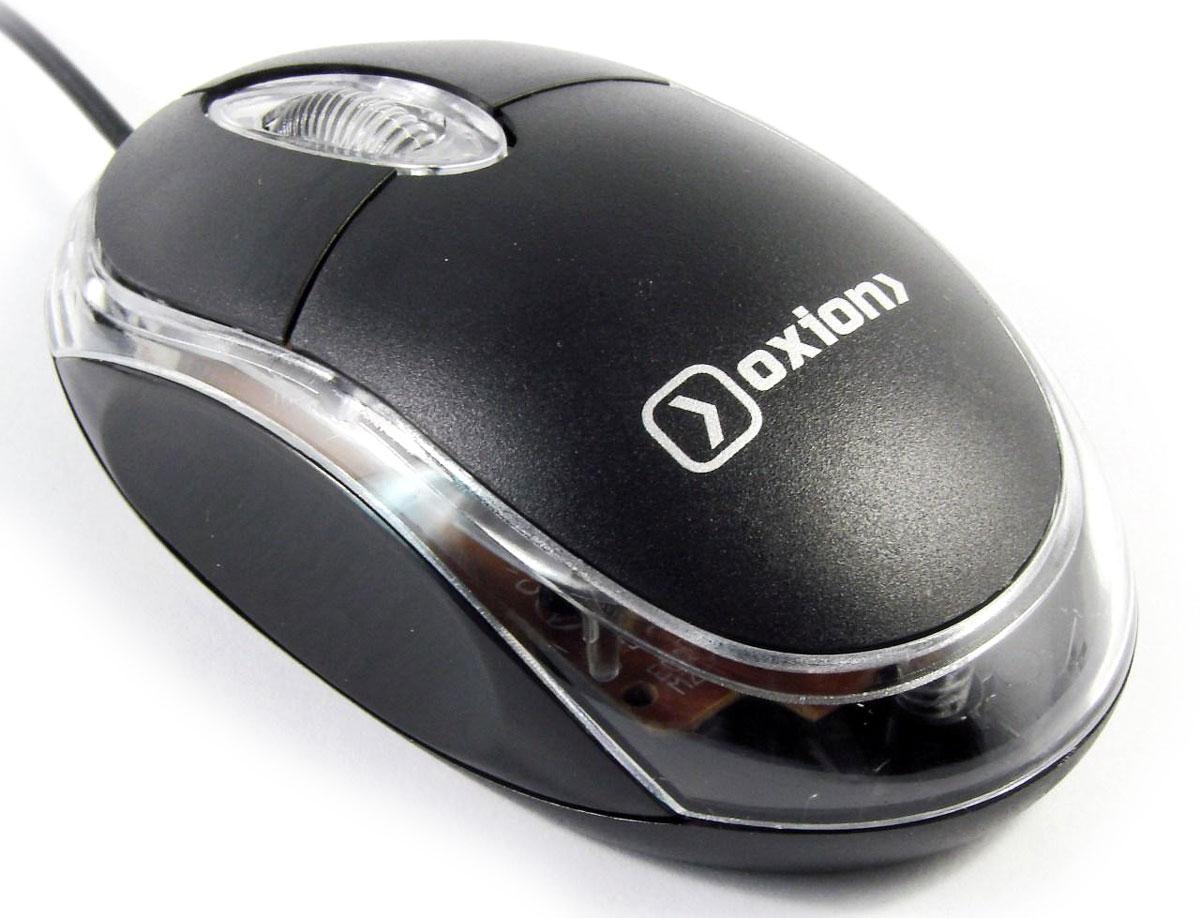 все цены на Oxion OMS001, Black мышь проводная онлайн