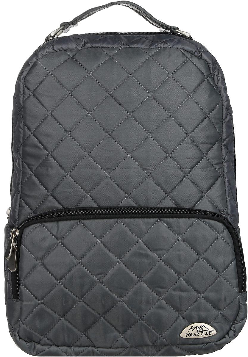 Рюкзак городской Polar, 14 л, цвет: серый. П7070-06
