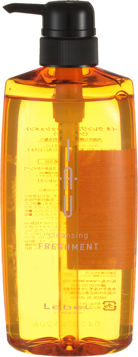 Lebel IAU Охлаждающий аромашампунь для жирной кожи головы Cleansing Freshmen 600 мл недорого