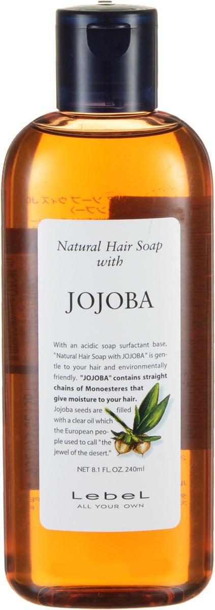 Lebel Natural Hair Шампунь с маслом жожоба Soap Treatment Jojoba, 240 мл1361лпУвлажняющий шампунь «Жожоба» Lebel Natural Hair Soap Treatment:Эффективно увлажняет и питает волосы. Удерживает влагу внутри волоса. Устраняет сухость и ломкость волос. Подходит для ухода за наращенными волосами. Защищает от УФ (SPF 15).