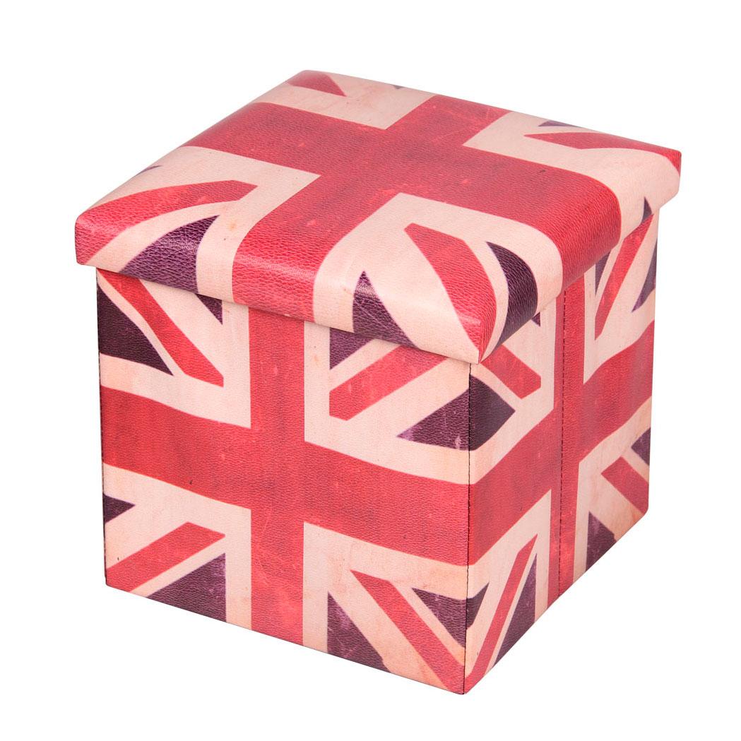 Пуф-короб для xранения Miolla, цвет: белый, красный, синий, 38 x 38 x 38 см. PSS-14PSS-14Пуф-короб Miolla создан, чтобы сделать хранение вещей не только удобным, но и стильным. Внутри идеальное функциональное пространство для хранения необходимых мелочей и аксессуаров. Несмотря на внешне компактные размеры, пуф-короб очень вместителен и определенно станет незаменимой вещью в любом доме.Размер: 38 x 38 x 38 см