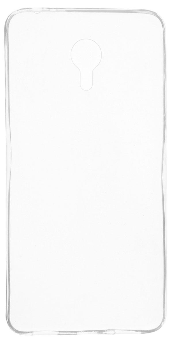 Skinbox Slim Silicone чехол-накладка для Meizu M3 Note, Clear чехлы для телефонов skinbox накладка skinbox slim silicone для meizu pro 6