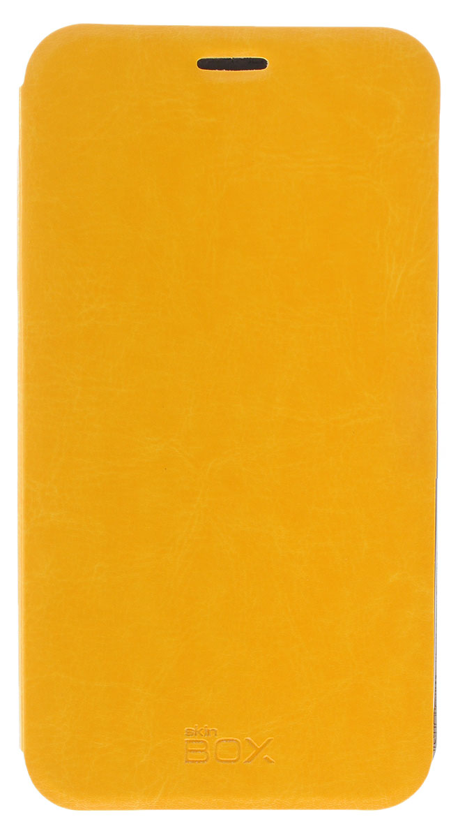 Skinbox Lux чехол для Asus Zenfone Go ZB551KL, Yellow чехлы для телефонов skinbox huawei honor 6 plus skinbox lux