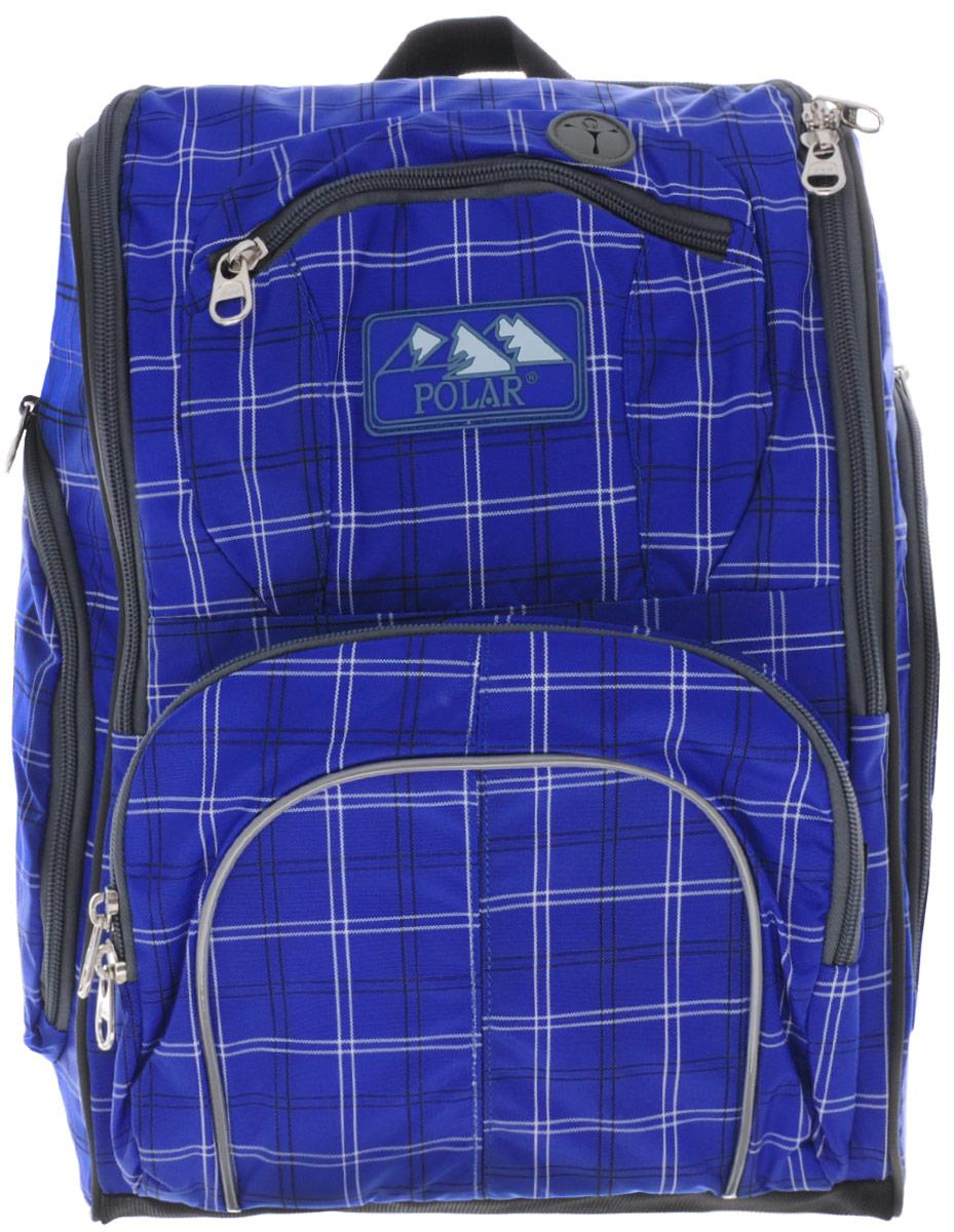 Рюкзак детский городской Polar, 19 л, цвет: синий. П3065А-04 рюкзак городской polar 21 л цвет синий п955 04