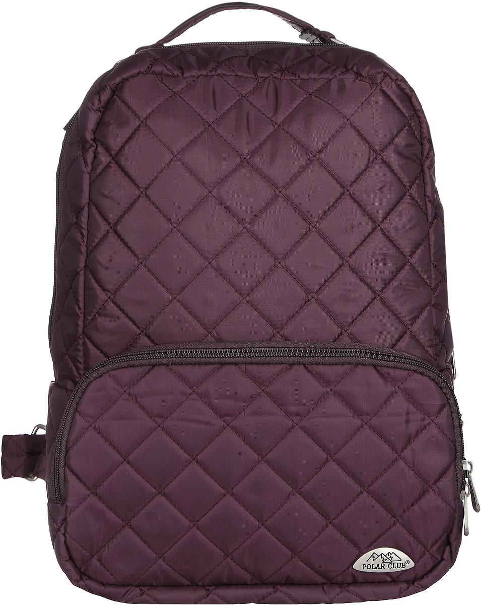 Рюкзак городской Polar, 14 л, цвет: бордовый. П7070-14