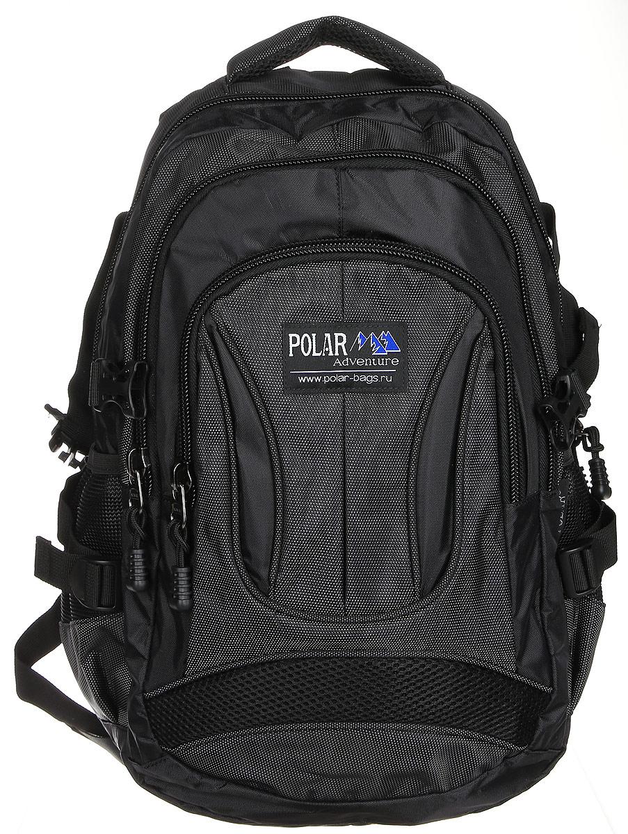 Рюкзак городской Polar, 18 л, цвет: черный. 38309-05