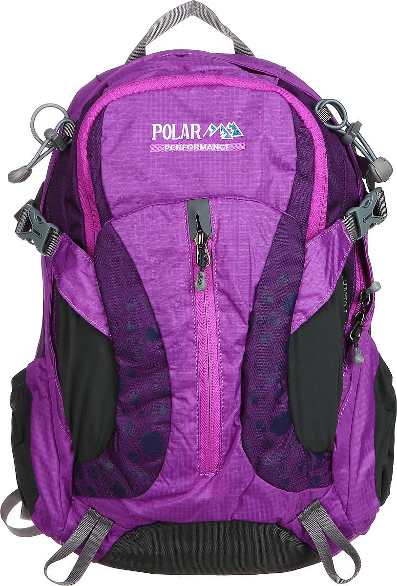 Рюкзак городской Polar, 14,5 л, цвет: фиолетовый. П1552-12 стилус polar pp001