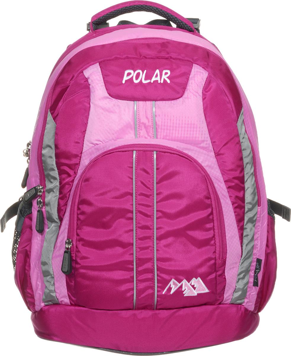 Рюкзак детский городской Polar, 24 л, цвет: розовый. П221-17 рюкзак детский городской polar 24 л цвет серый п221 06 page 6
