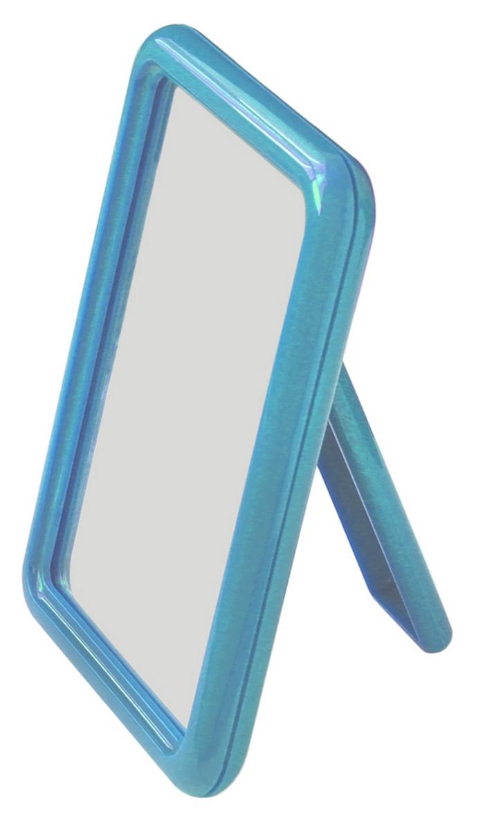 Silva Зеркало настольное, одностороннее, цвет: голубой