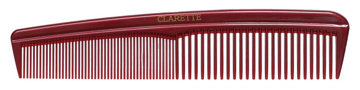Clarette Расческа для волос универсальная, цвет: бордовый