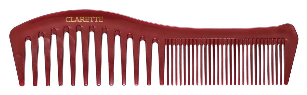 Clarette Расческа для волос комбинированная, цвет: коричневыйCPB 098Коллекция Clarette Перламутр- это расчески, щетки и термо-брашинги для ухода за волосами. Коллекция изготовлена из перламутрового пластика в яркой цветовой гамме. Форма расчески позволяет легко и удобно расчесывает даже густы волосы, благодаря разным размерам зубьцов позволяет расчесывать и разделять пряди. Подходит для ежедневного применения.