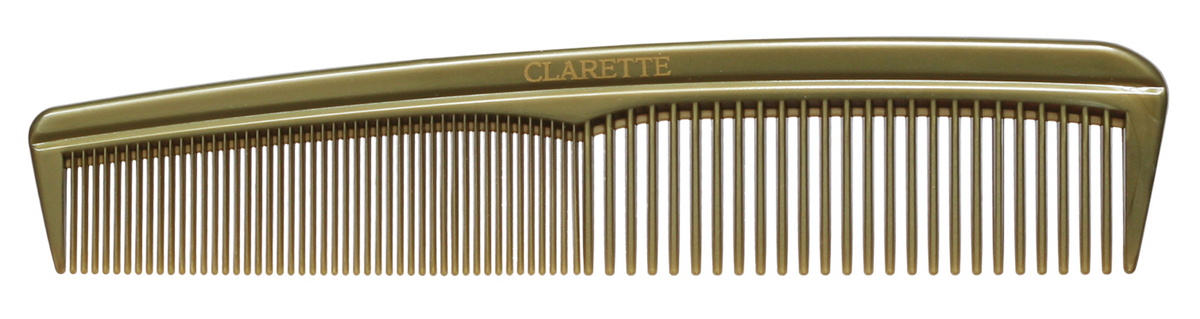 Clarette Расческа для волос универсальнаяя, цвет: оливковый